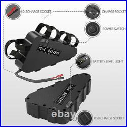 UPP 48V 20Ah Ebike Li-ion Triangle Battery LED for 750W 1000W Electric Bicycle
