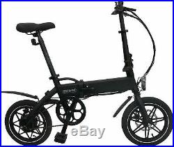 WHIRLWIND Folding Electric Bike Moped Car Bicycle Scooter City E-Bike 25km/h