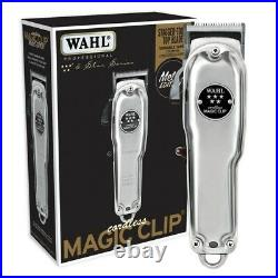 Wahl Metal Magic Clip Cordless Lithium Ion Clipper Limited Edition
